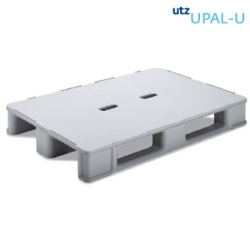 What is the utz plastic pallet in a closed circuit and what is its price