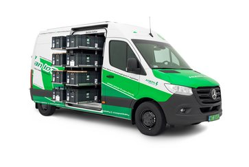 Utz plastic containers for transport in innovative logistics projects - SmartVan IoT