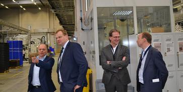 Albert Stegemann visits the plastics network of the Ems axis