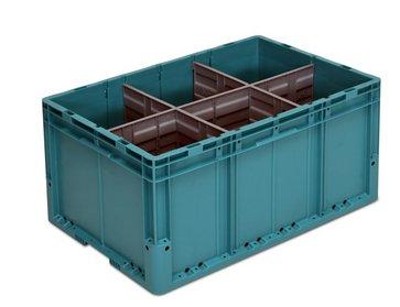 Pojemniki plastikowe w obiegu zamkniętym - ceny i oszczędności