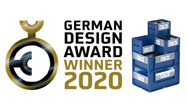 ECOBIN earns German Design Award 2020
